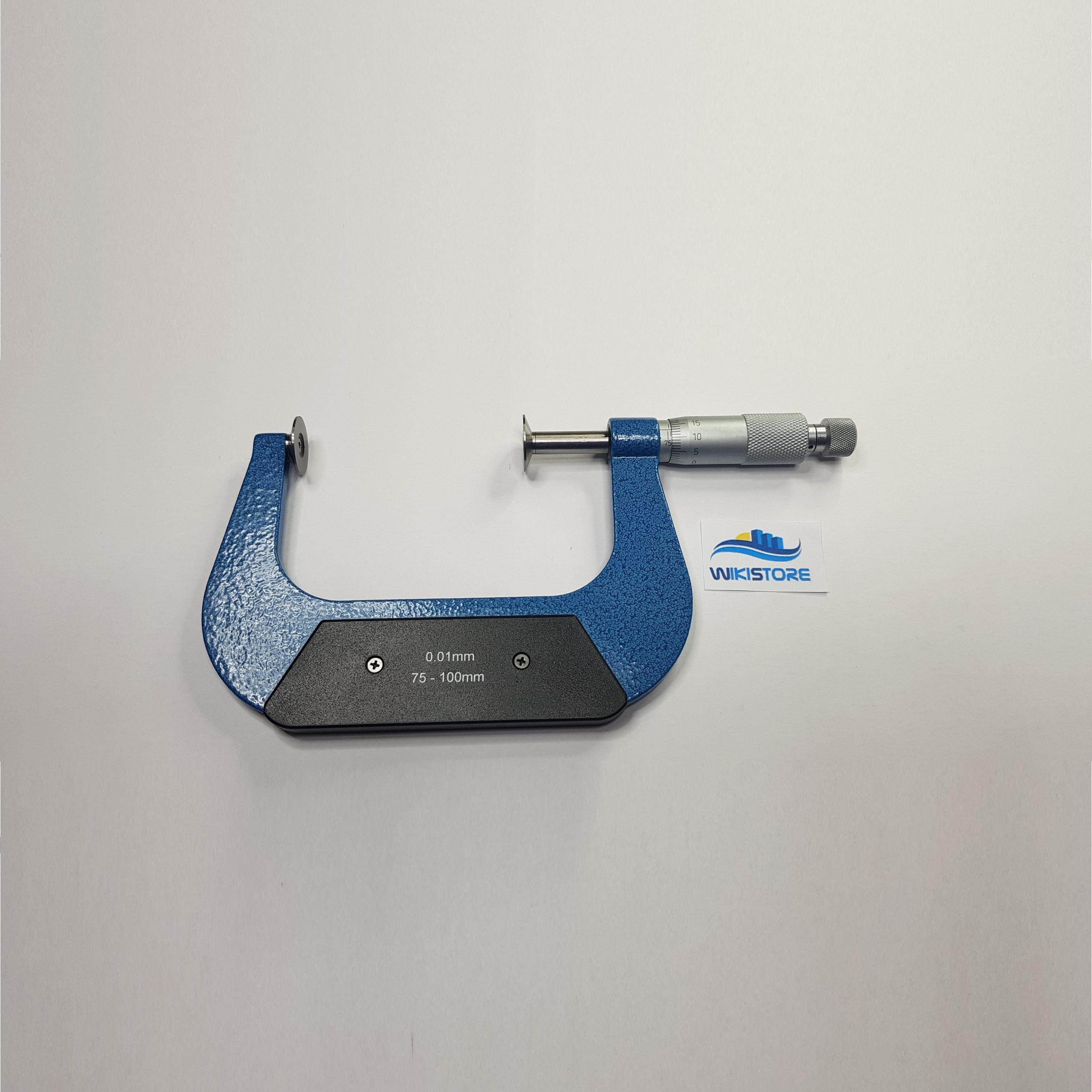 Micrometro centesimale con piattelli a piattello 0-25 mm SM 20 MP00
